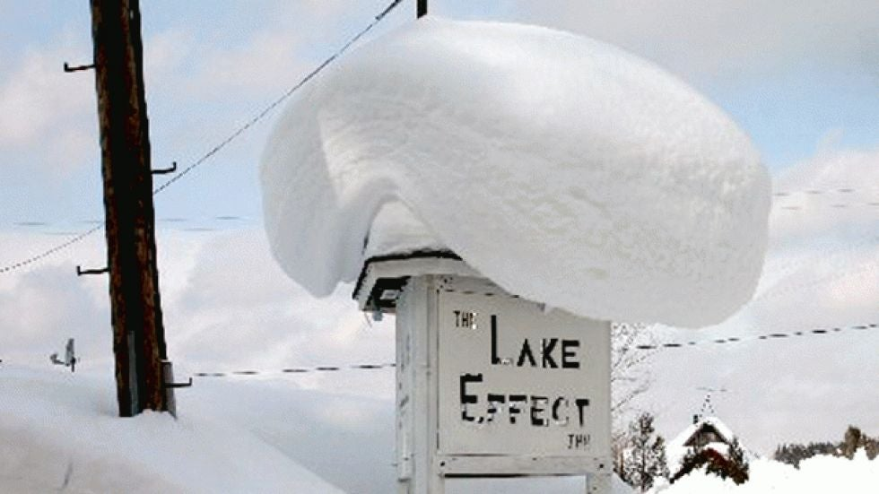 The Great Lakes' Amazing Lake-Effect Snowfall Records | The