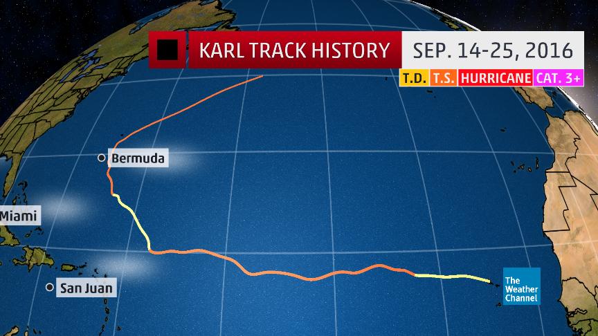 tropical storm karl recap
