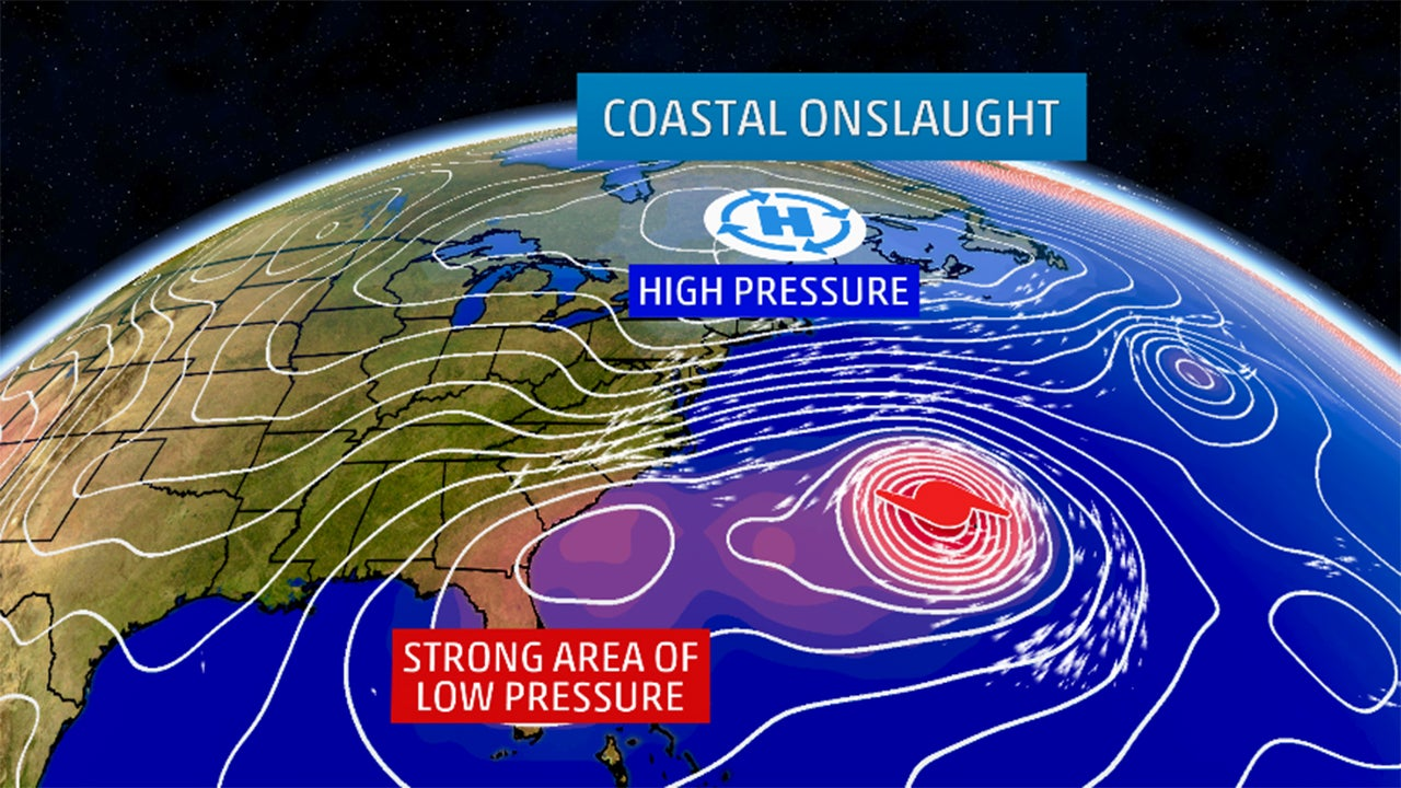 Tidal Onslaught Brings Flooding to 7 States Highest Tide Since