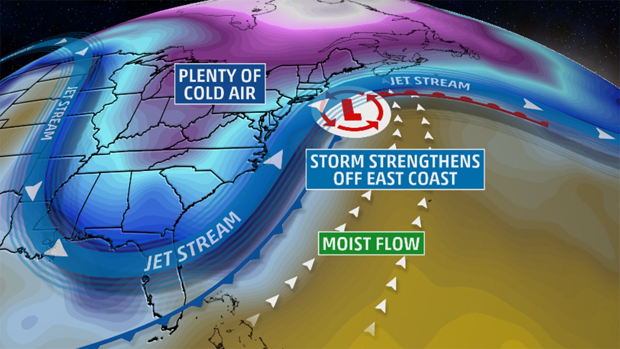 major winter storm increasingly likely in east  including