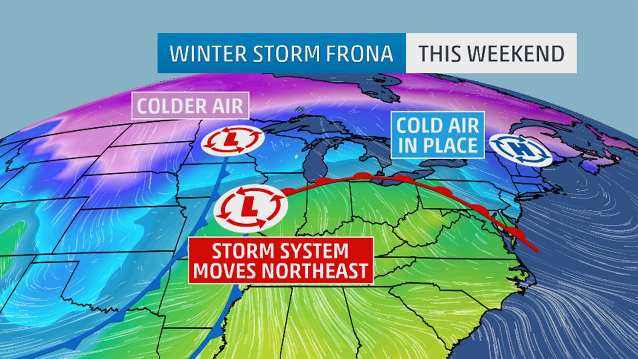 winter storm frona recap  snow for the midwest  northeast