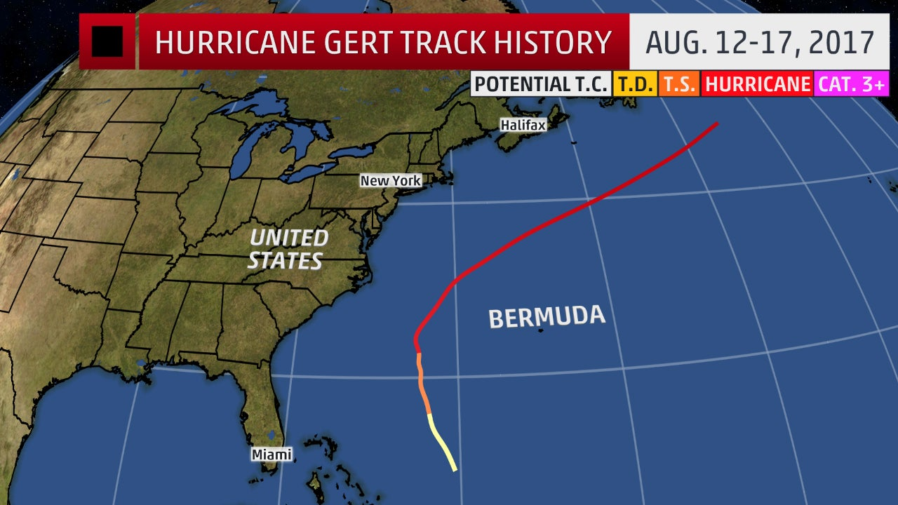 Hurricane Gert Was A Wave Generator For Us And Canada East Coasts Recap The Weather Channel