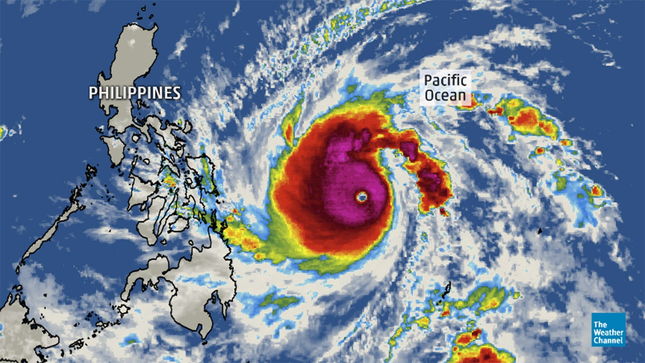 super typhoon hagupit  ruby  rapidly intensifies