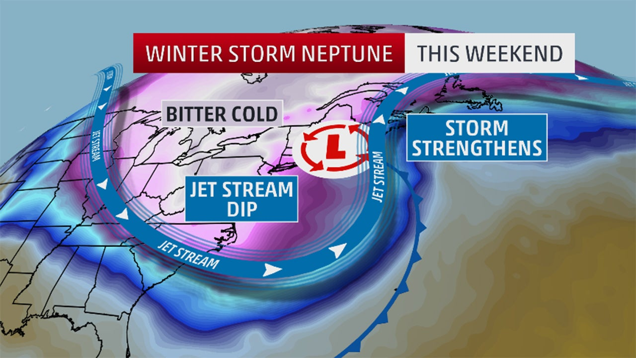 winter storm neptune  snow  wind and blizzard reports