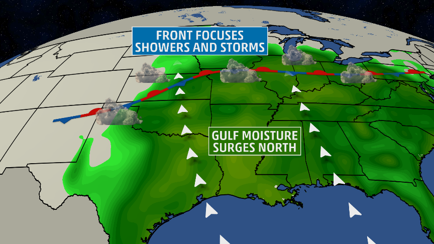 heavy rain  flooding expected in the plains  midwest