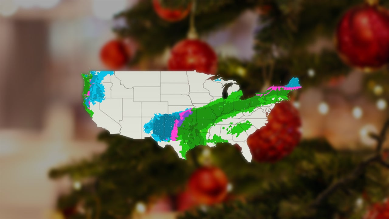 Christmas Travel Forecast: Rain and Snow Will Likely Cause Delays