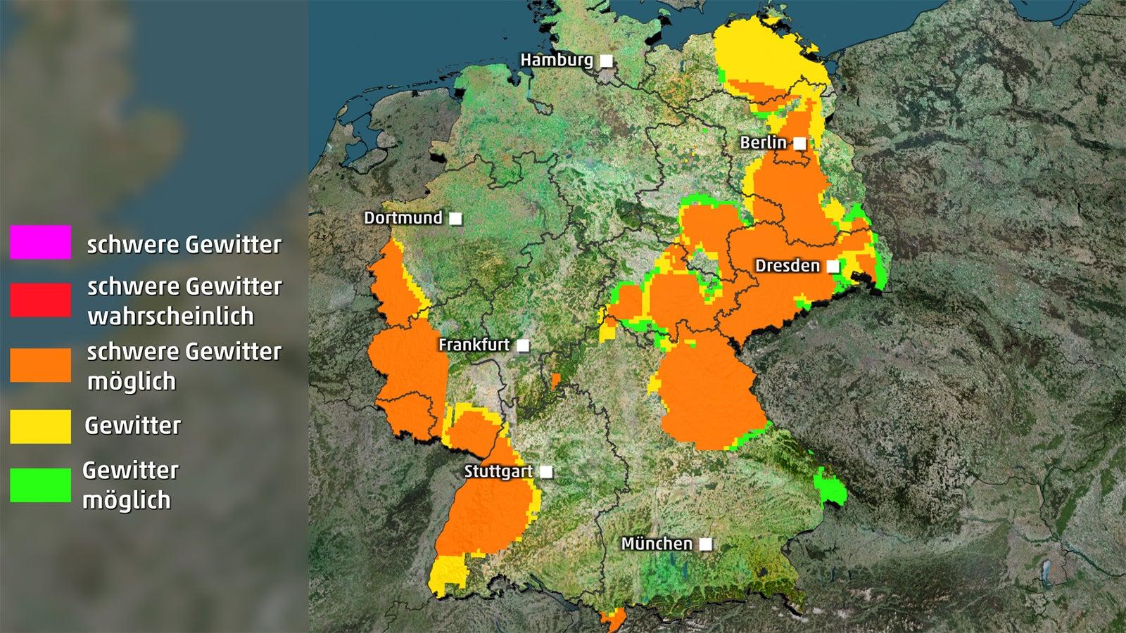 Sturmböen, Hagel und sintflutartiger Regen! Unwetter kündigen sich an | The Weather Channel - Artikel von The Weather Channel | weather.com