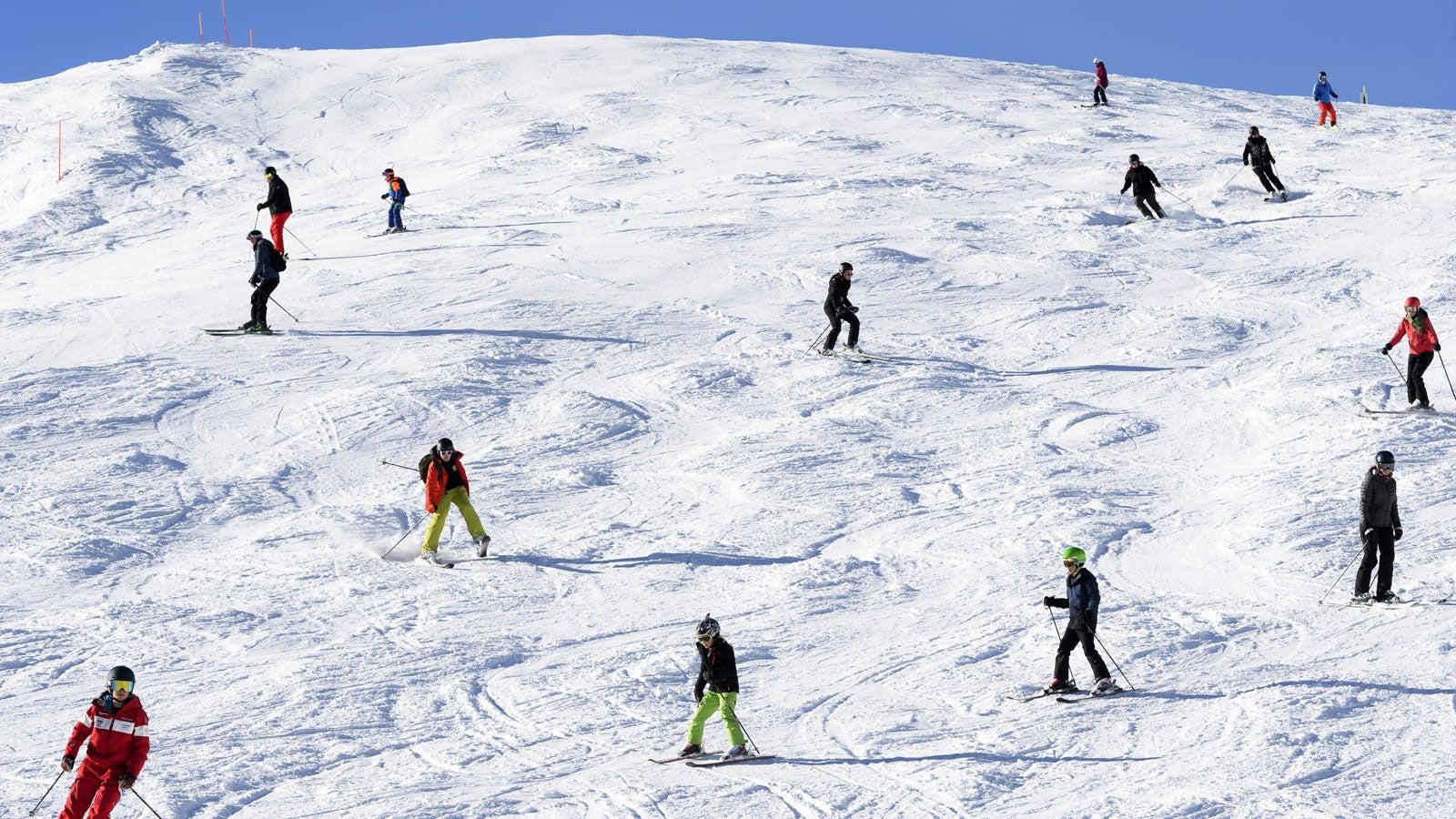 Skifahren Spiel