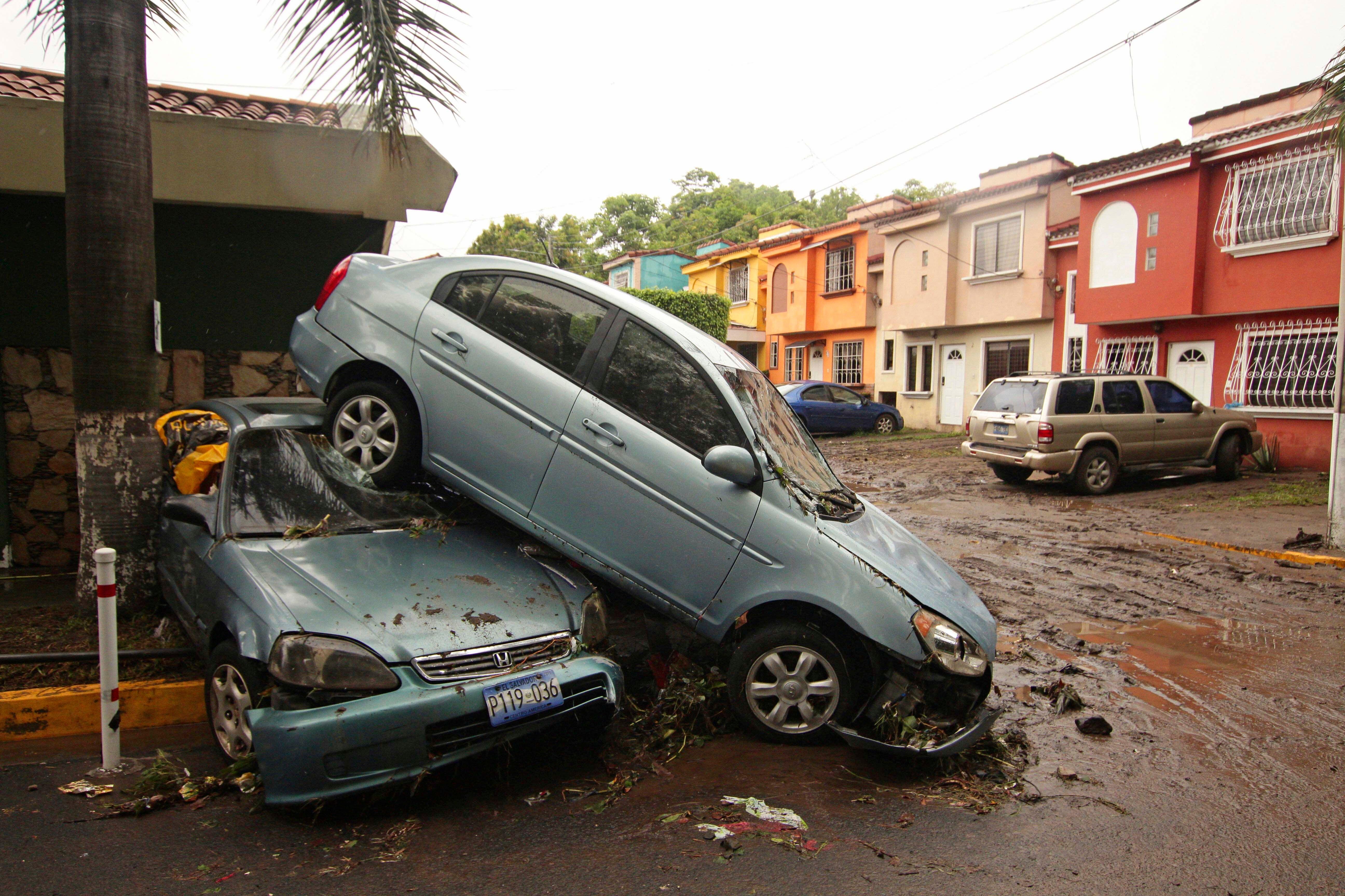 Beginn der Hurrikansaison: 14 Tote bei Tropensturm in El Salvador
