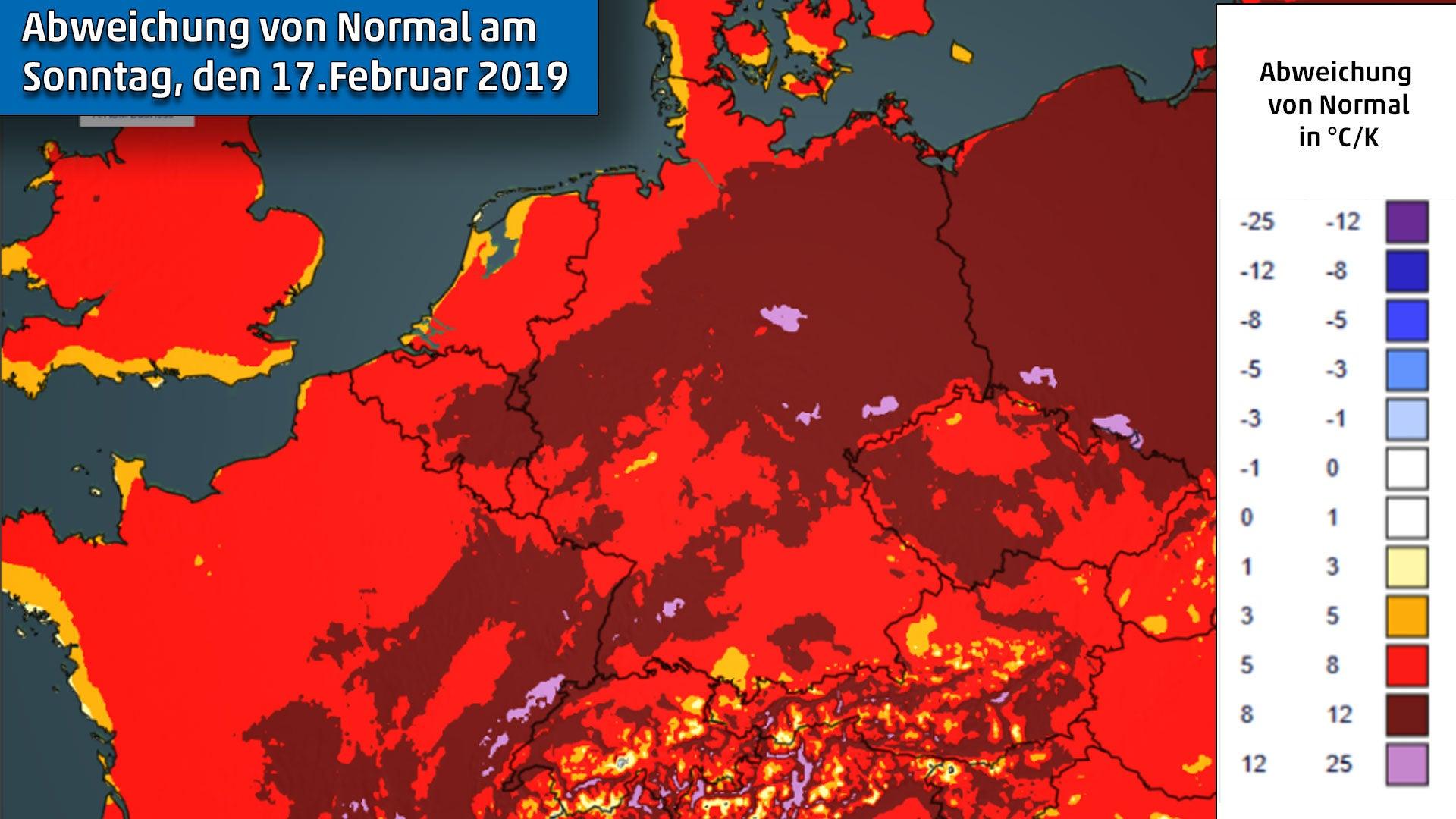 6a350d45ef2eea Sonnenbrandgefahr am Wochenende! Februarfrühling könnte Vorbote ...