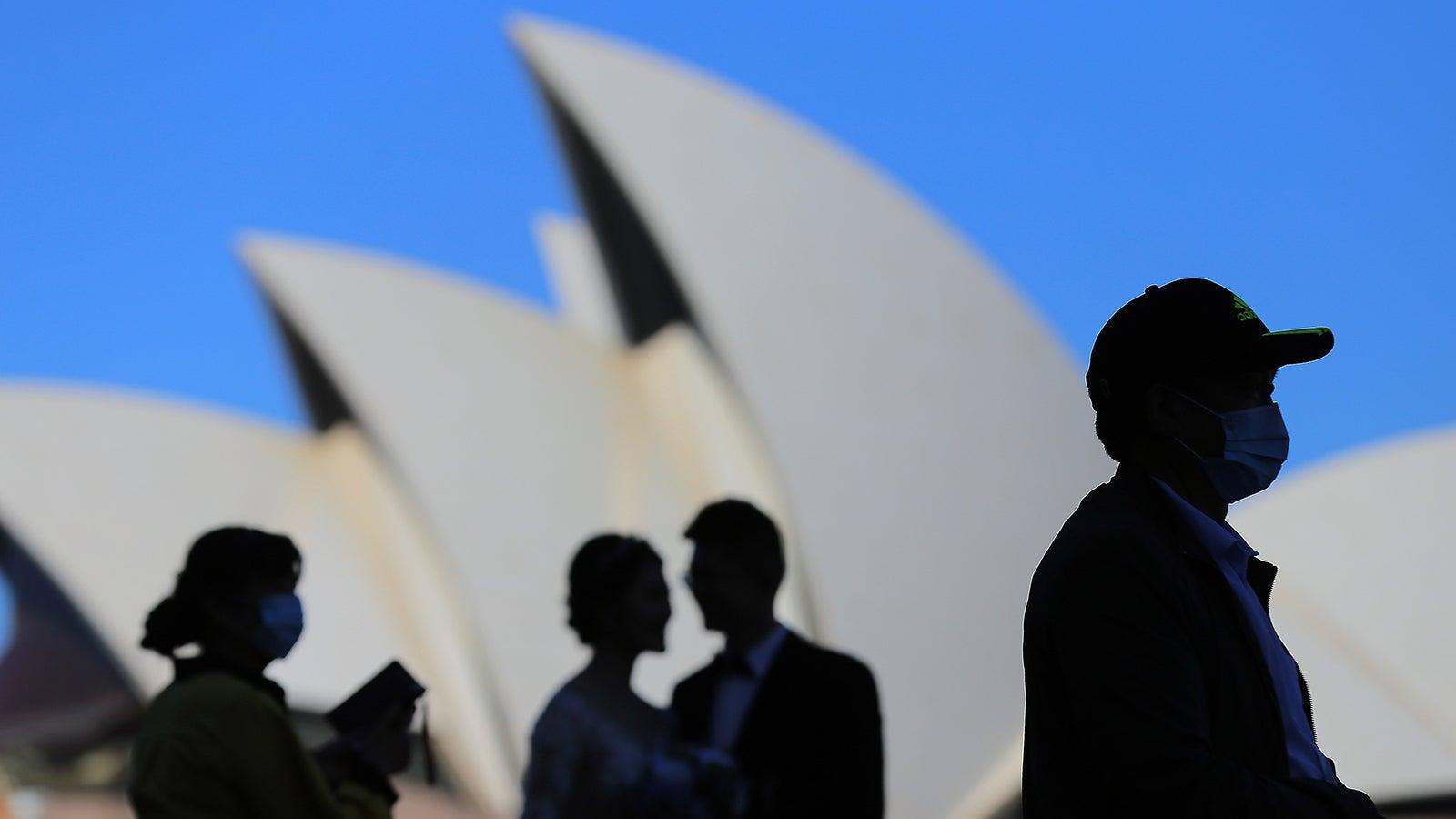 corona fälle australien