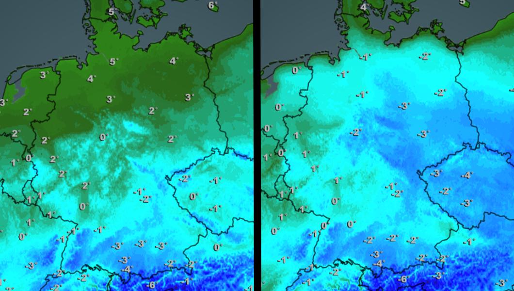 Arktische Luft bringt Wintereinbruch: Durch die Dürre wird es noch kälter