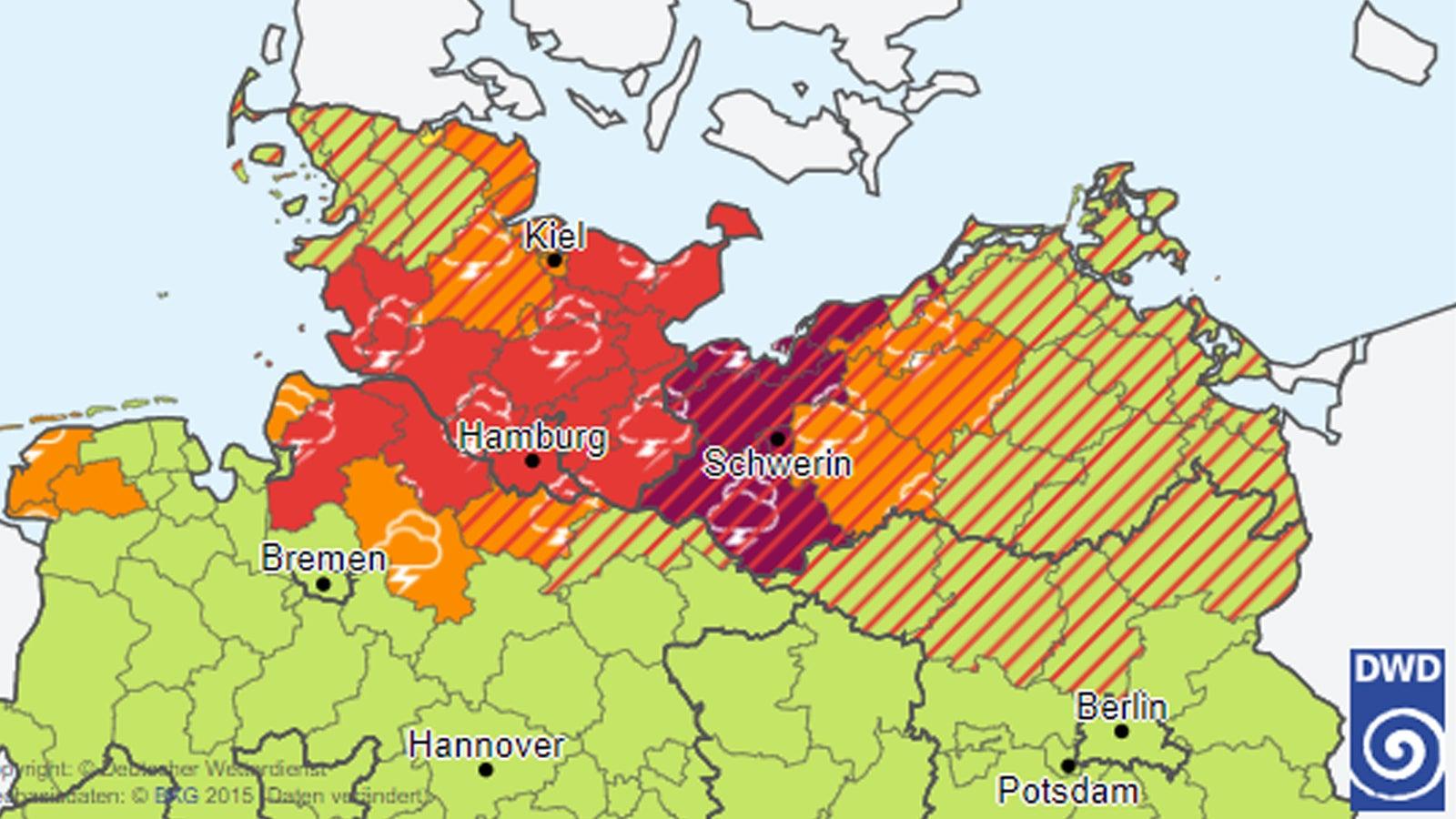 Unwetter In Mecklenburg-Vorpommern Heute