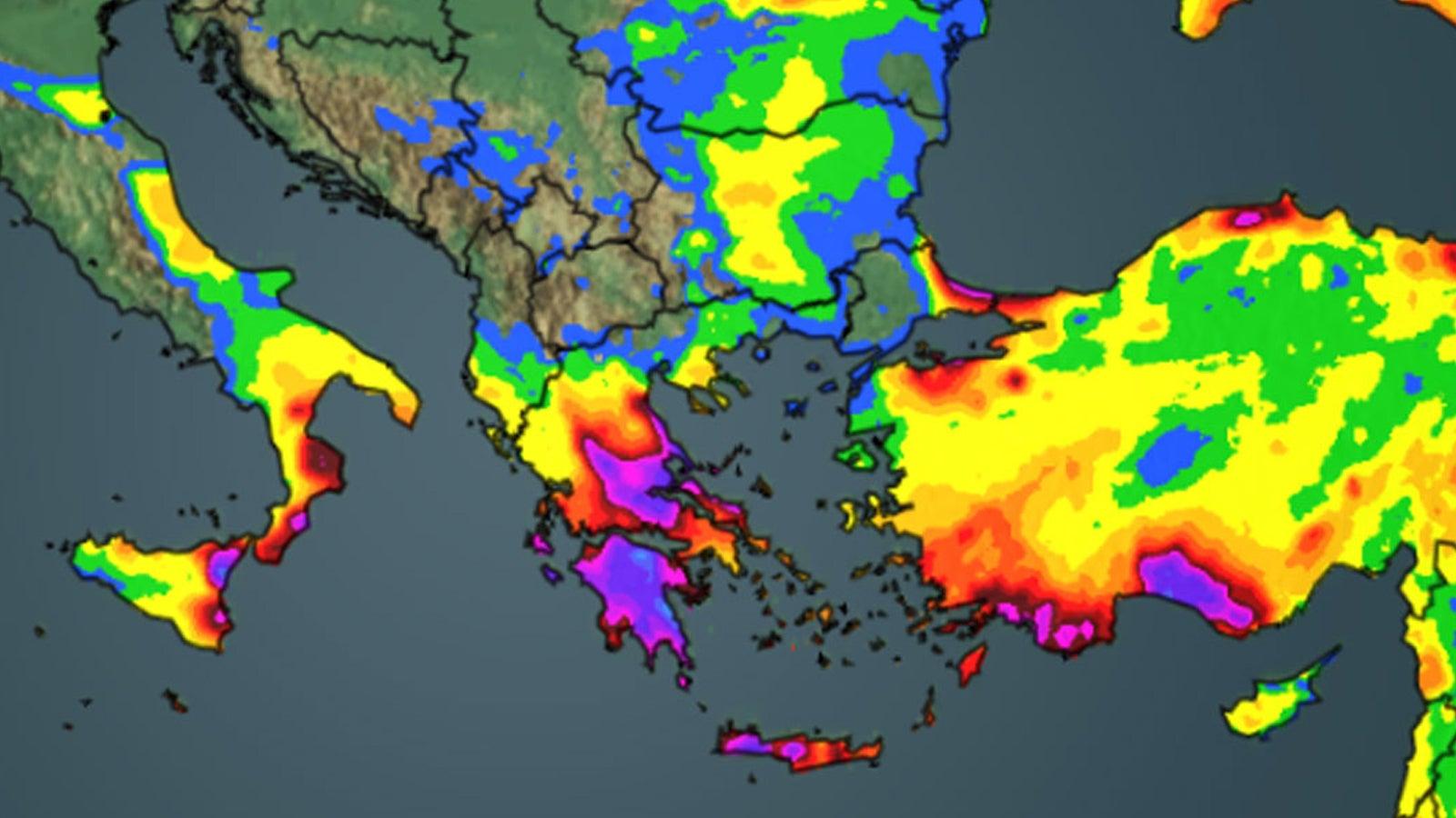 Alarmstufe Rot droht! Neue Unwetter brauen sich über dem Mittelmeer zusammen