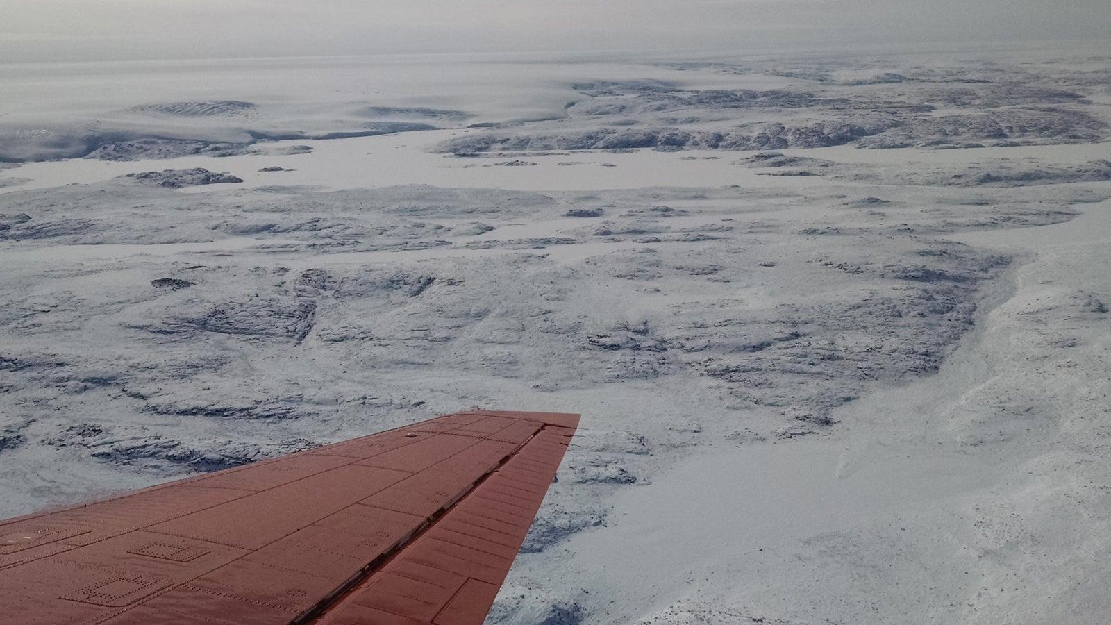 31-Kilometer breiter Krater entdeckt: Ein gigantischer Meteorit traf Grönland
