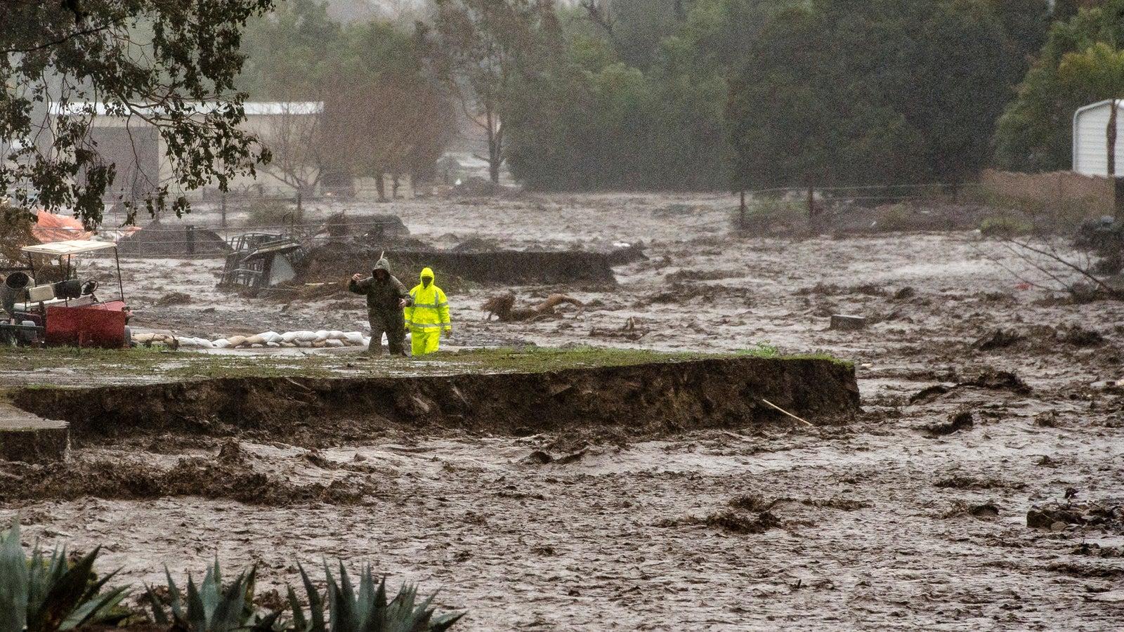 Kalifornien Regen