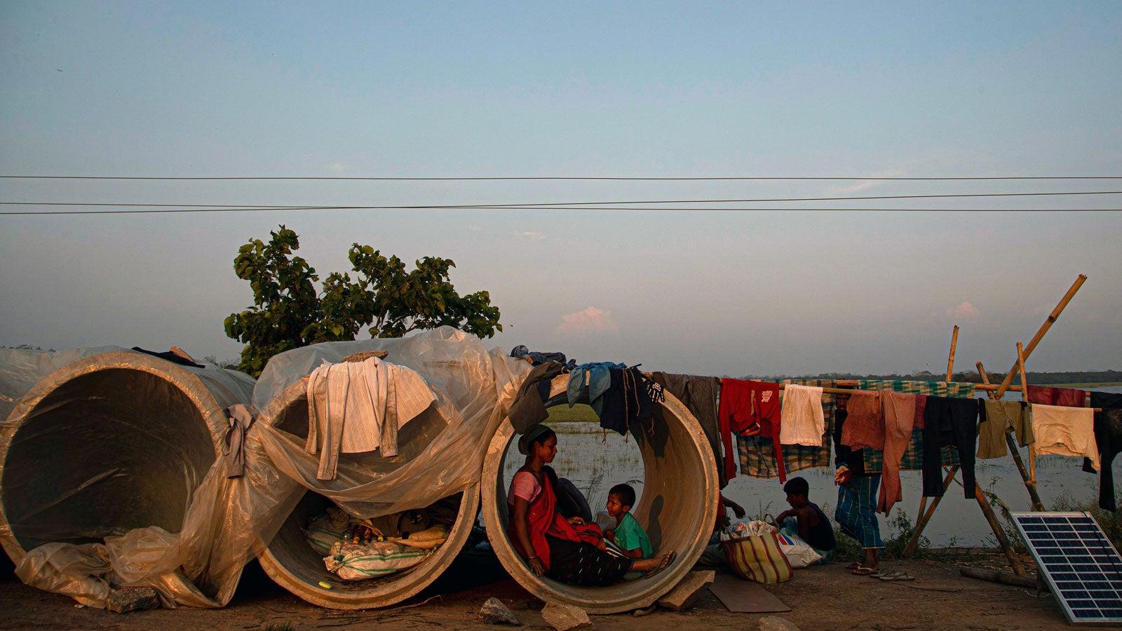 Indien: 21 Tote bei Erdrutschen – Wirbelsturm droht neues Ungemach zu bringen