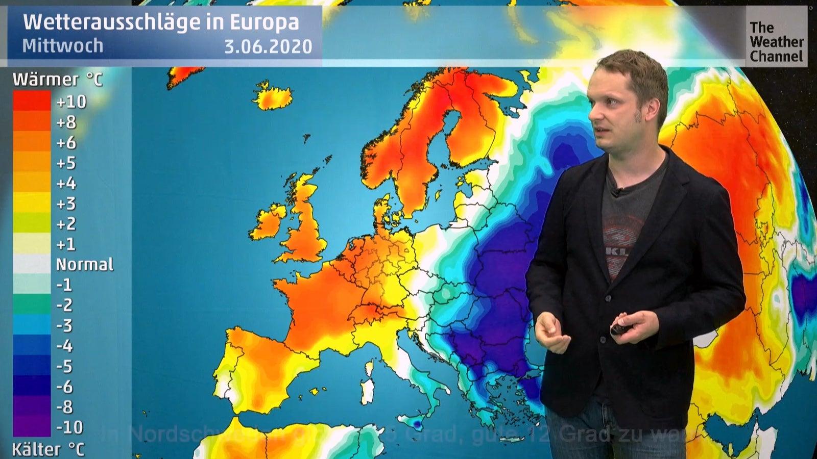 Wetterextreme an Pfingsten: 25 Grad am Polarkreis und Frostgefahr in Deutschland