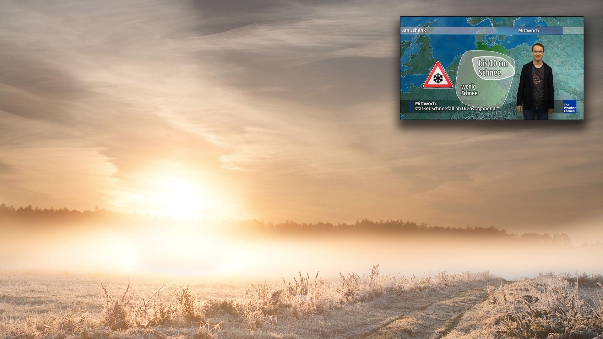 Wetter heute: Letzte Sonnentage im November - Wintereinbruch droht