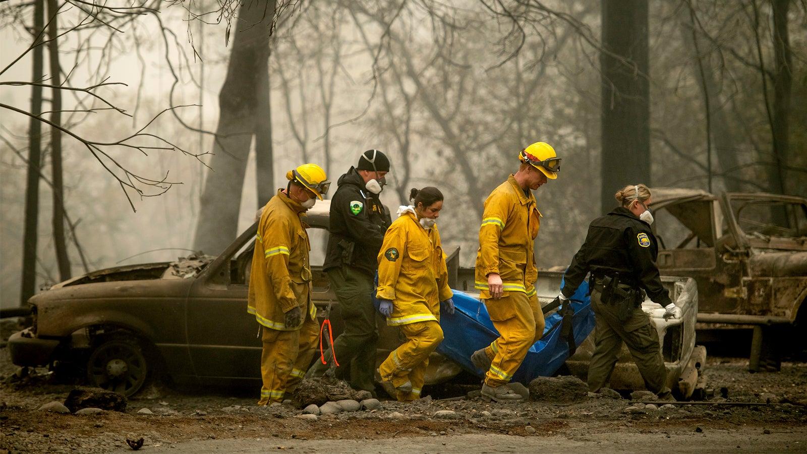 """""""Wie ein Kriegsgebiet"""": Noch Hunderte Vermisste in Kalifornien – Opferzahl steigt auf 58"""