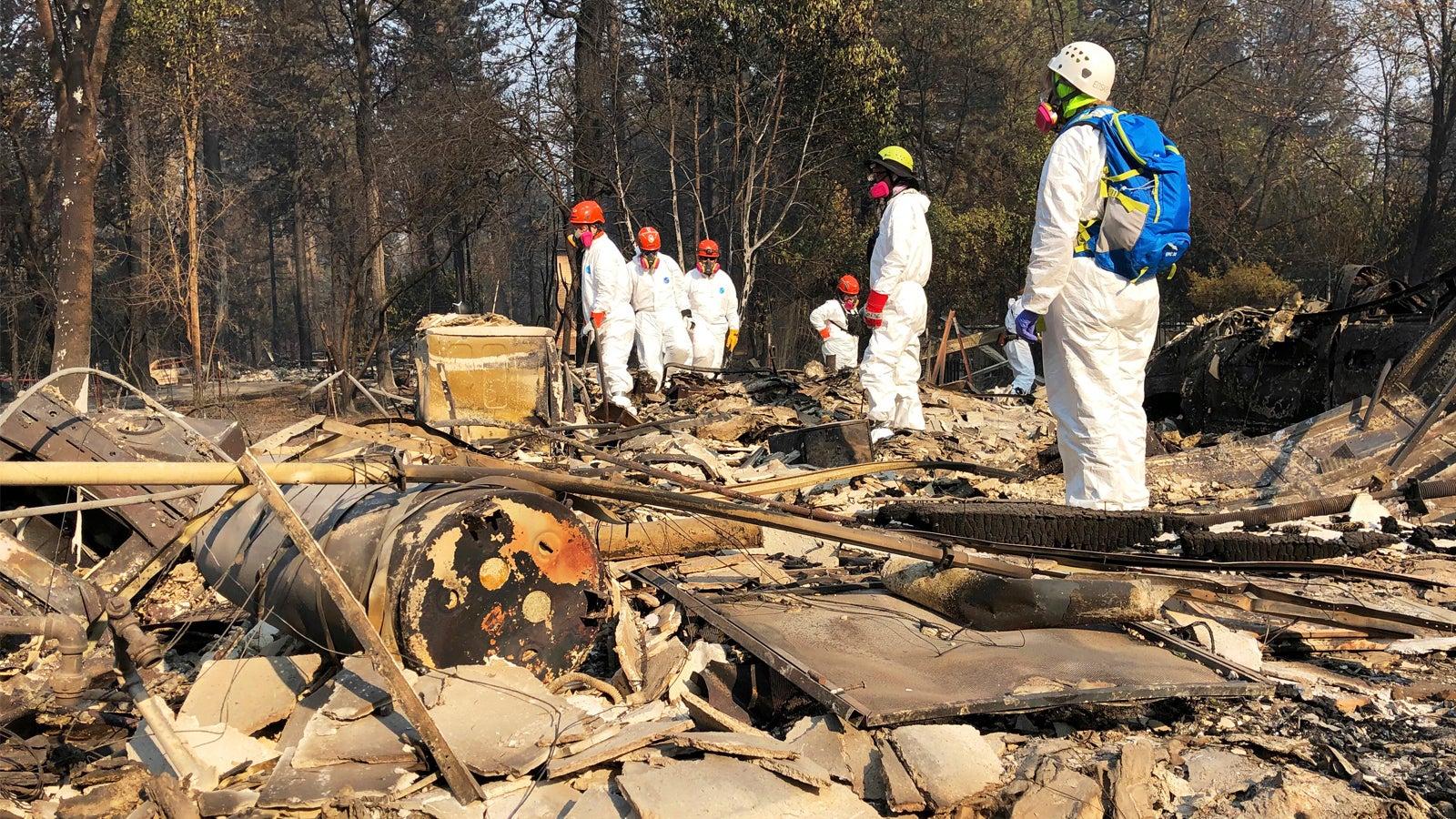 Zahl der Toten in Kalifornien steigt auf 77 - über 1000 Menschen bleiben vermisst