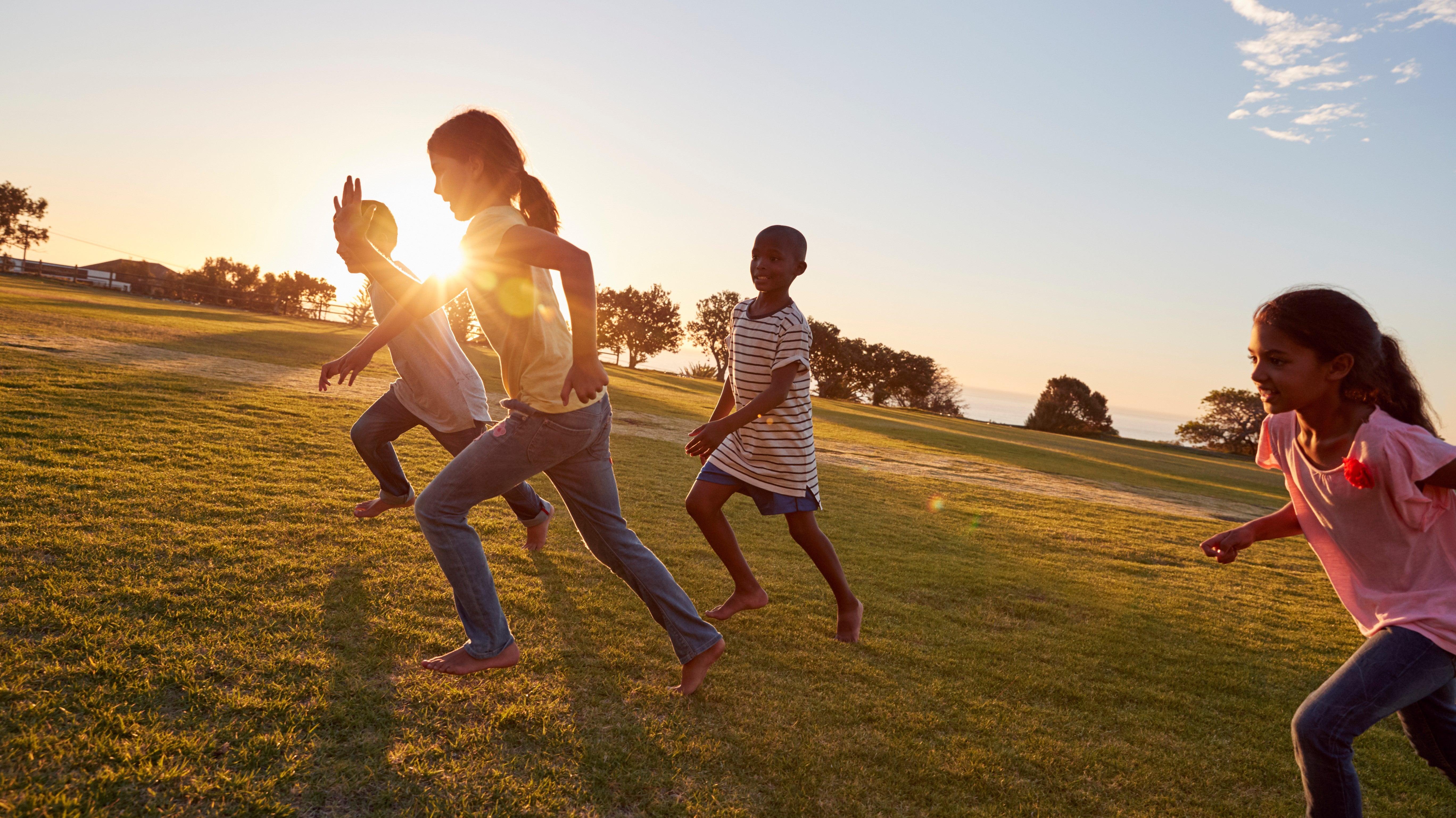 Energiebündel: Kinder sind so fit wie Ausdauersportler – und erholen sich schneller