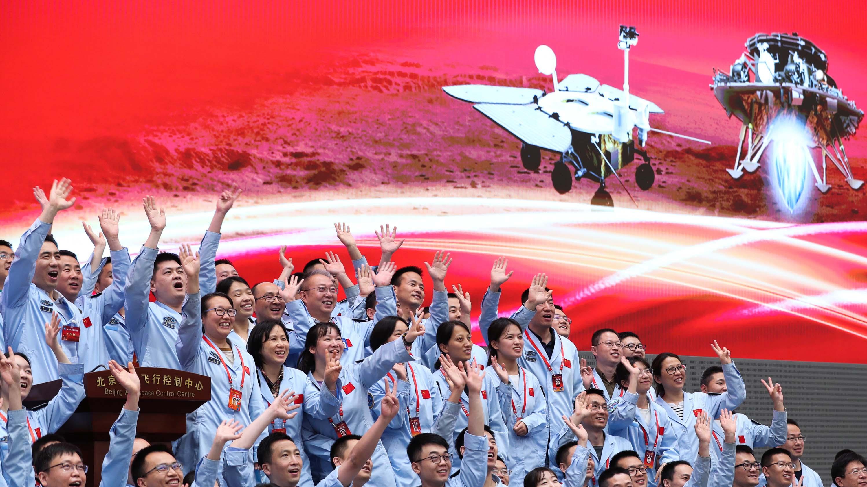 China gelingt erstmals Landung auf dem Mars | The Weather Channel - Artikel von The Weather Channel | weather.com