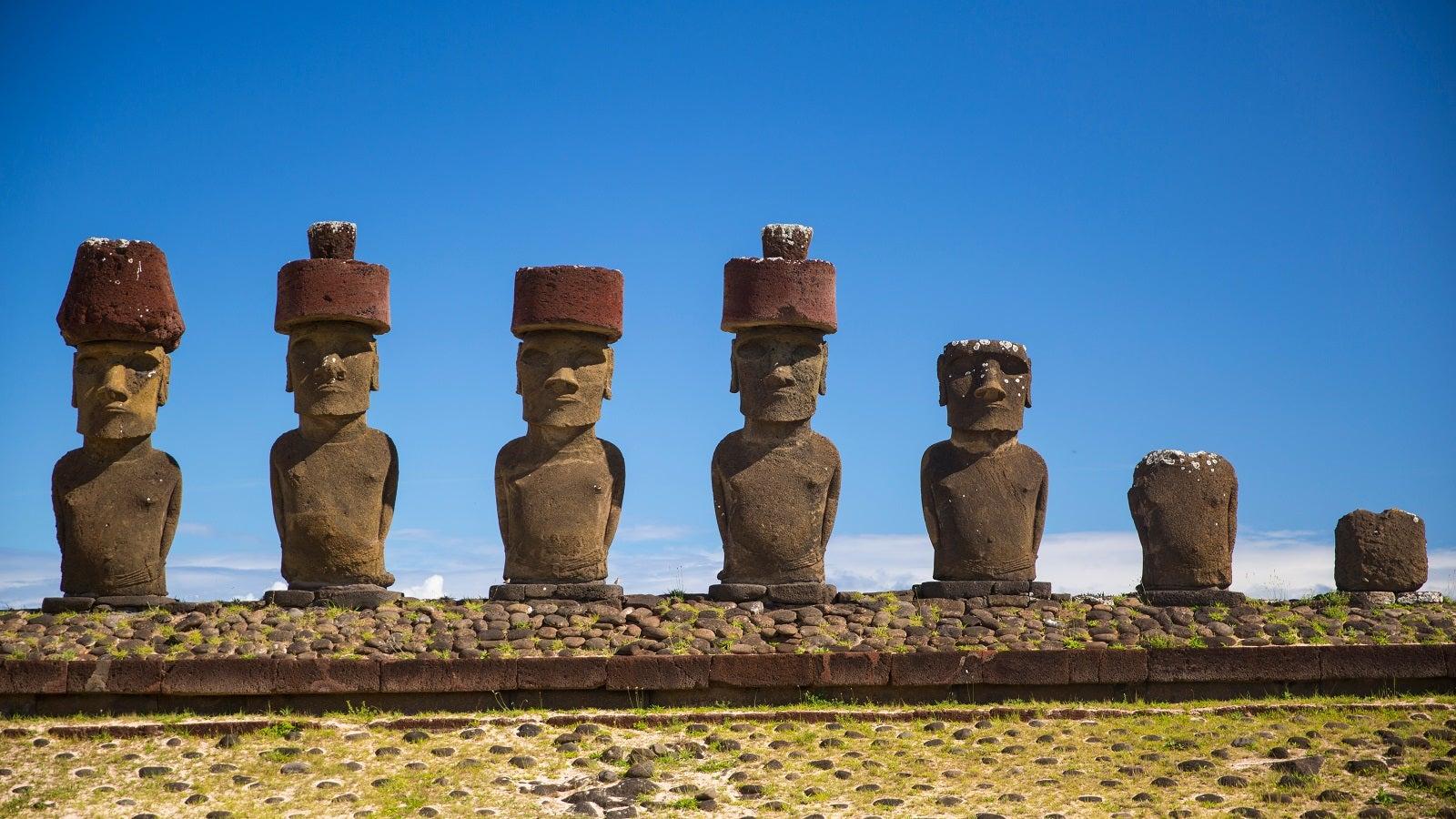 Osterinsel: Rätsel um die Hüte der geheimnisvollen Figuren scheint gelöst