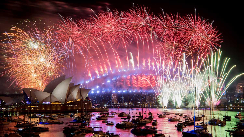 Das neue Jahr hat begonnen - Sydney begrüßt 2019 mit Rekord-Feuerwerk