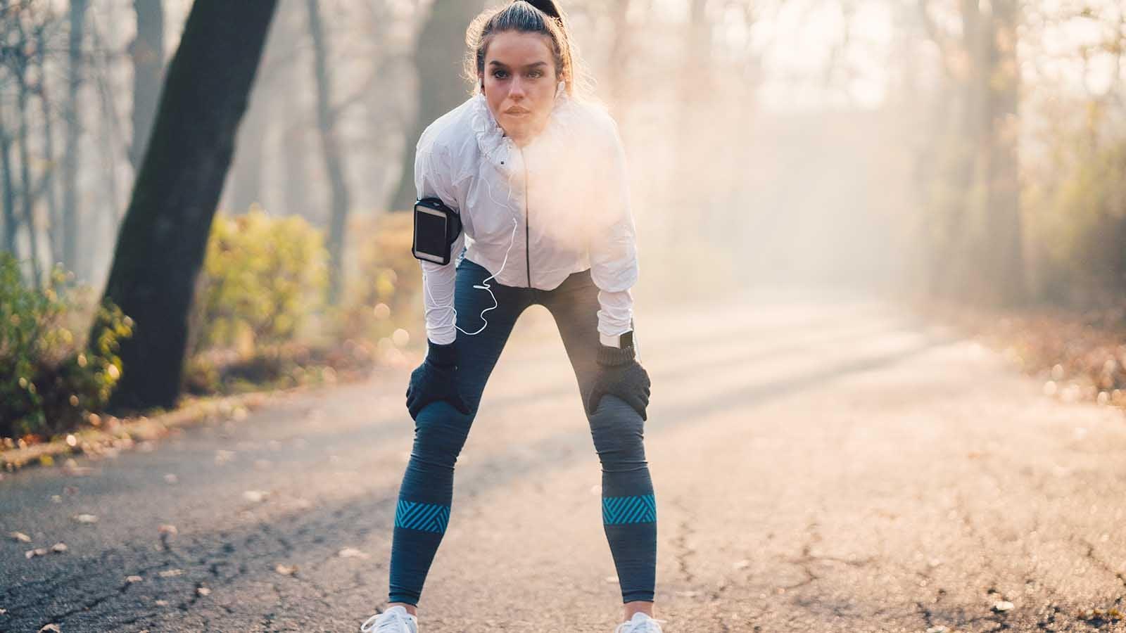 Sport im Winter: Ab diesen Temperaturen wird es ungesund