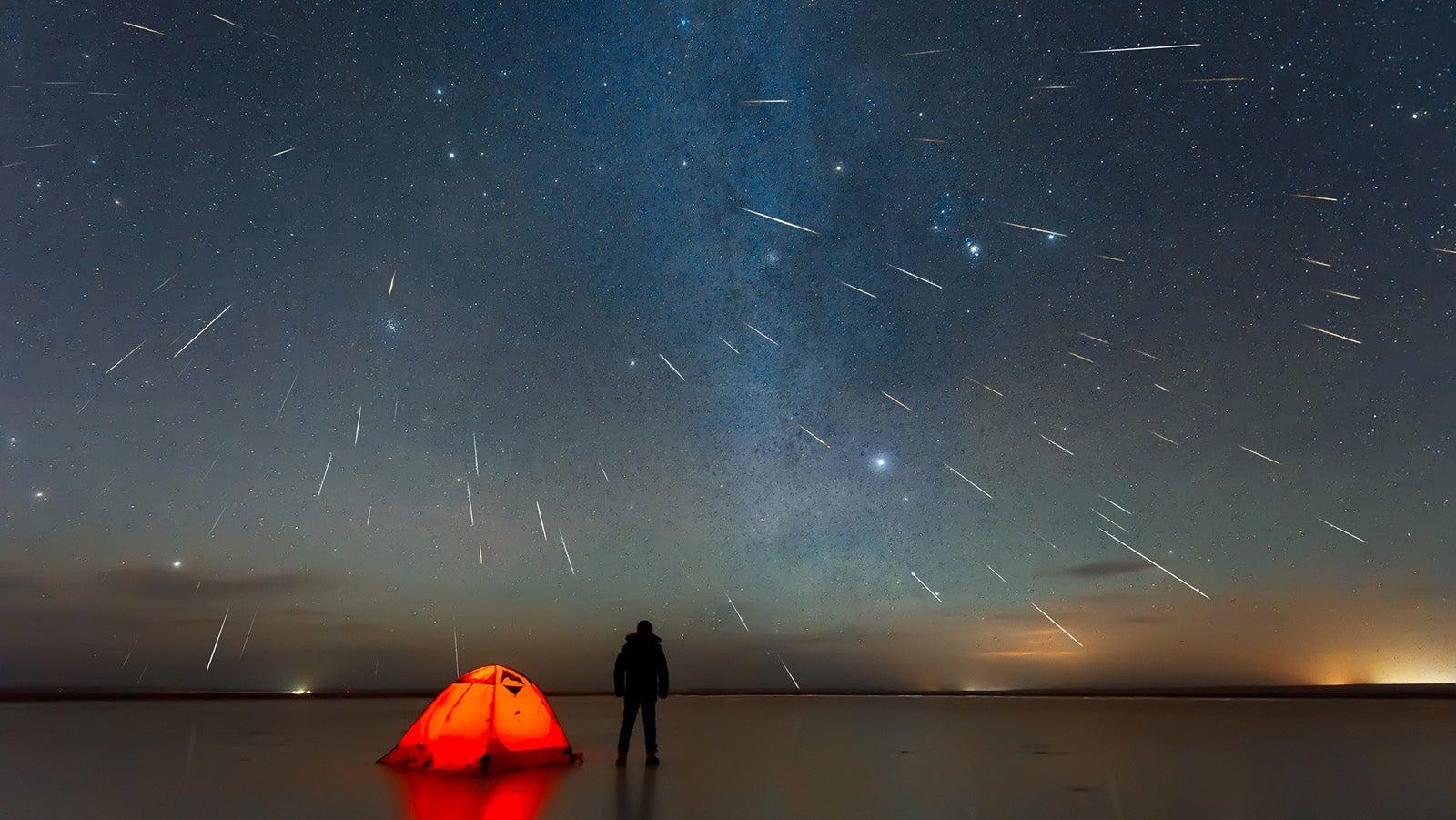 Meteor: Sternschnuppen zeigen sich jede Nacht