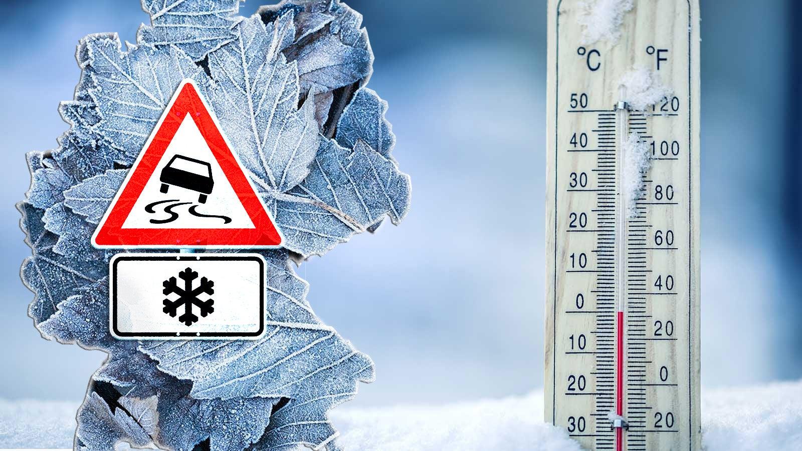 Wochenende startet mild, doch Temperatursturz naht - bis zu -14 Grad möglich   The Weather Channel
