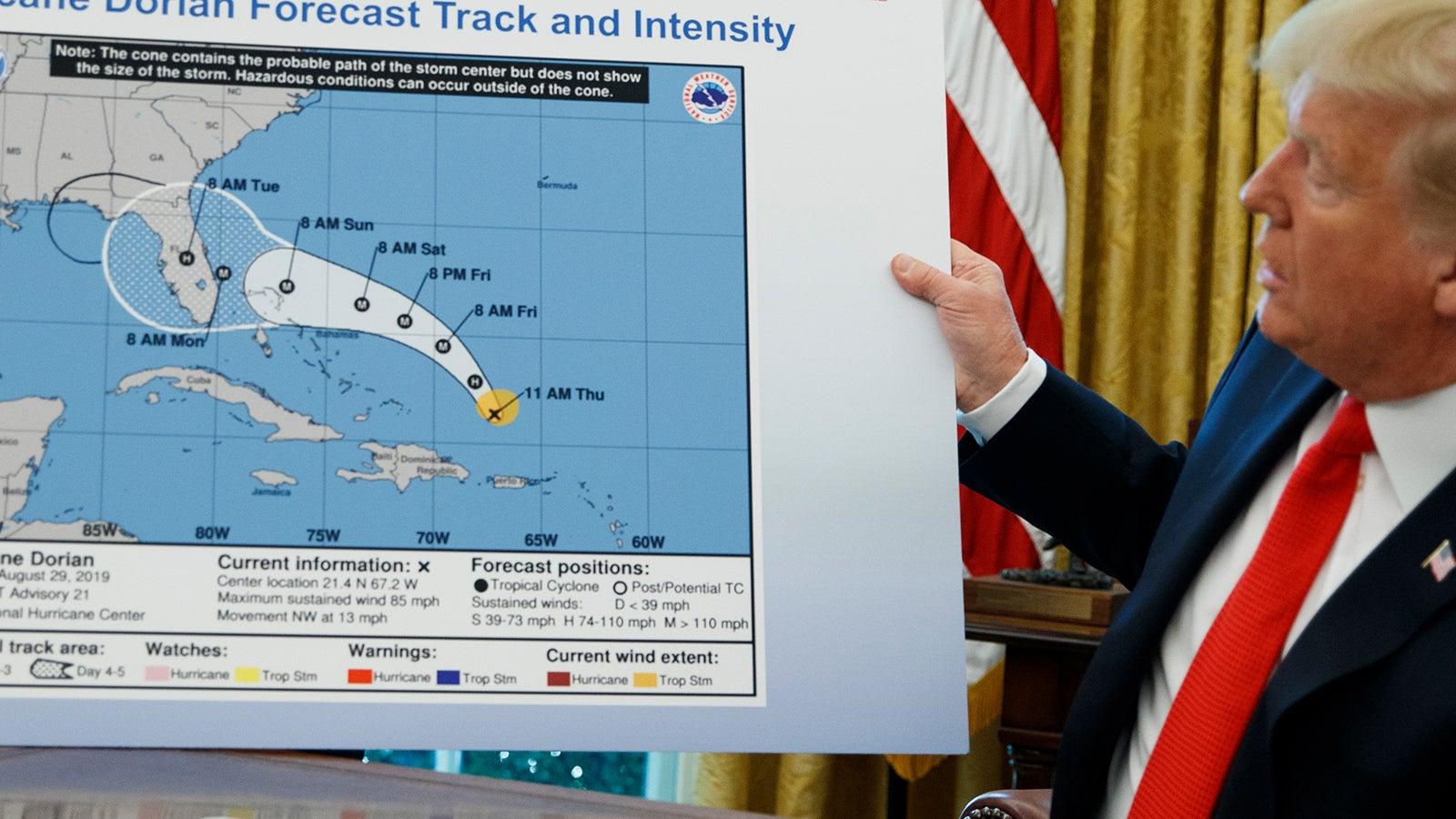 Alabama durch Dorian bedroht? Trump lässt nicht locker | The Weather Channel - Artikel von The Weather Channel | weather.com