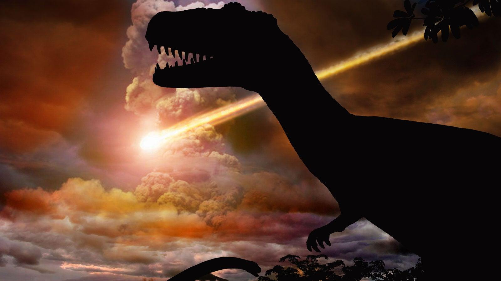 Meteoriteneinschlag Dinosaurier