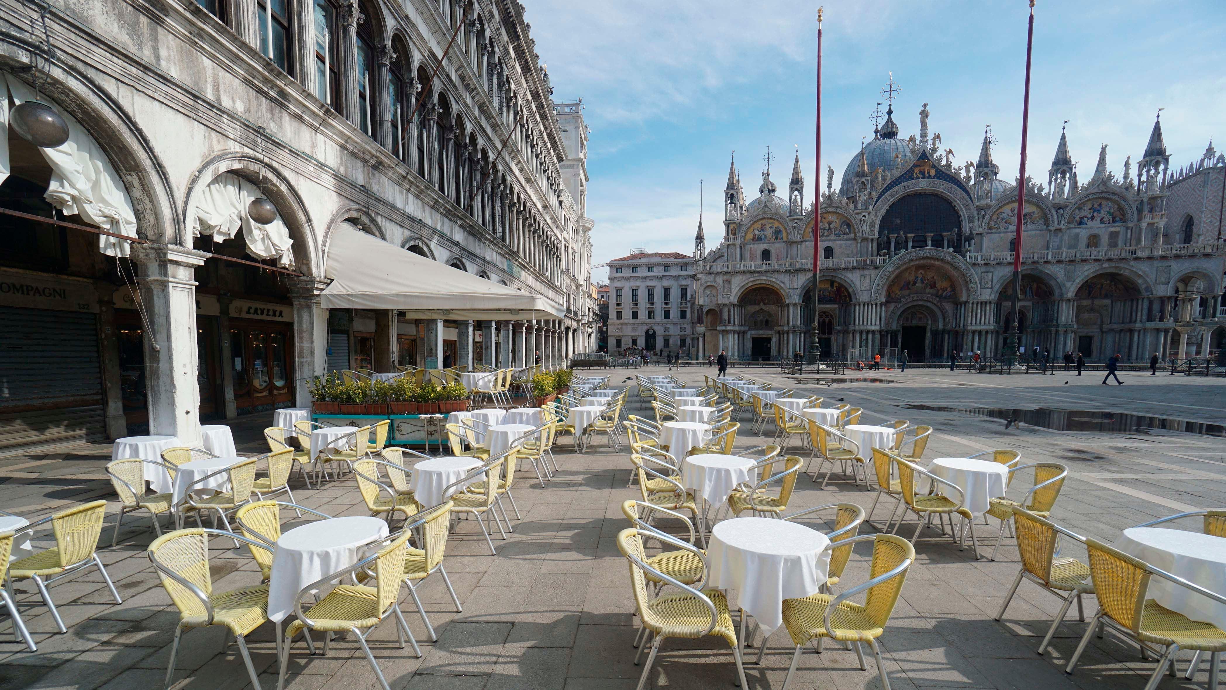 Venedig Corona Tourismus