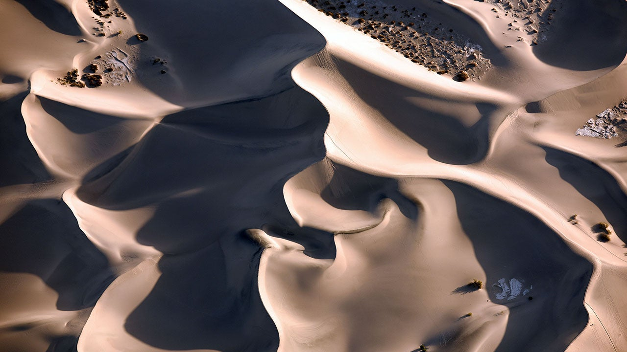 Stunning Aerial Images of Death Valley National Park