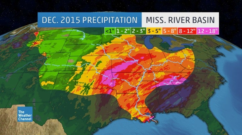 Historic Winter Flood Along Mississippi River Sets Record In Cape Girardeau The Weather Channel