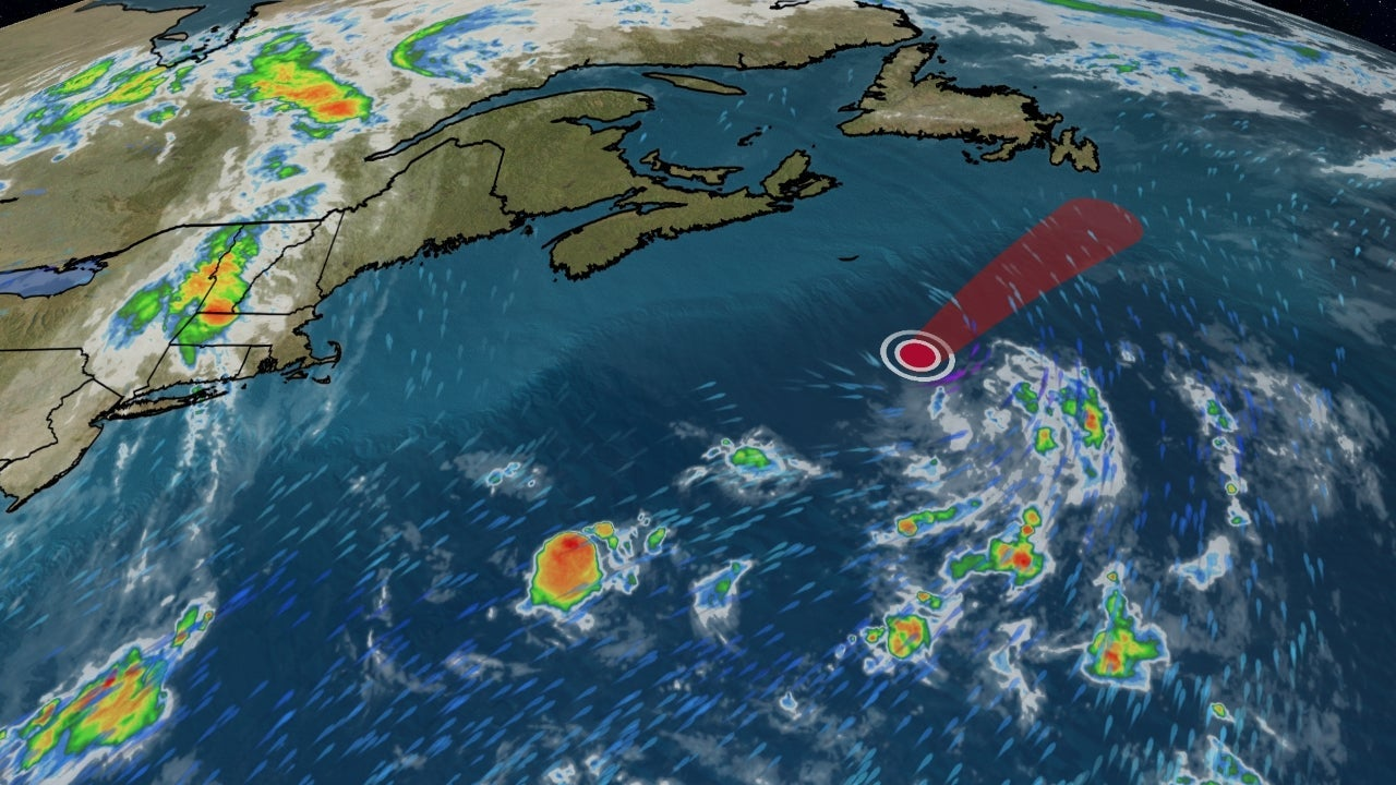 Tropical Depression Dolly No Threat to Land in the Atlantic