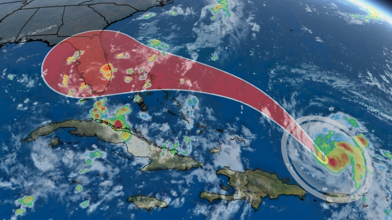 hurricane dorian expected to intensify and poses a growing
