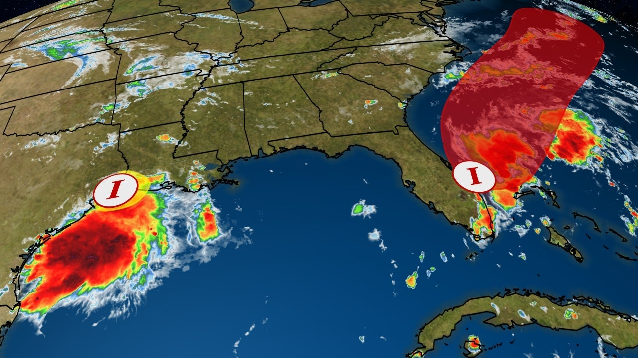 Invest 98L Likely to Develop Off Southeast Coast as Second Rainmaker Lurks Near Gulf Coast