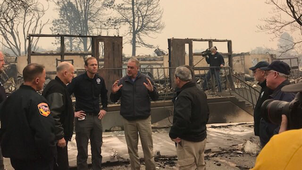 What They Said: Survivors, Officials in Awe After Surveying California Wildfire Damage