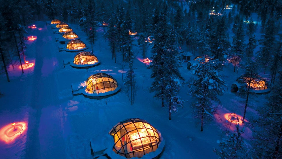 Glass Igloo Hotel Offers Stunning Views Of The Northern