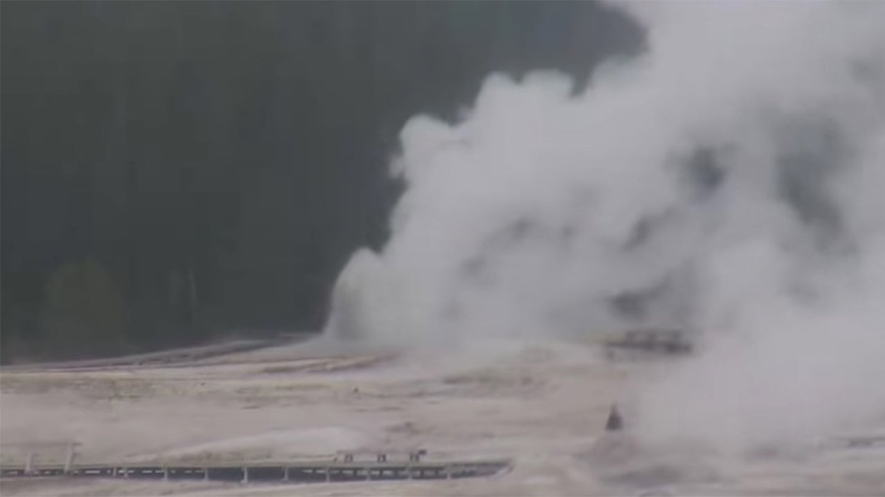 Yellowstone Hot Spring Erupts For Only the Fourth Time in 60 Years