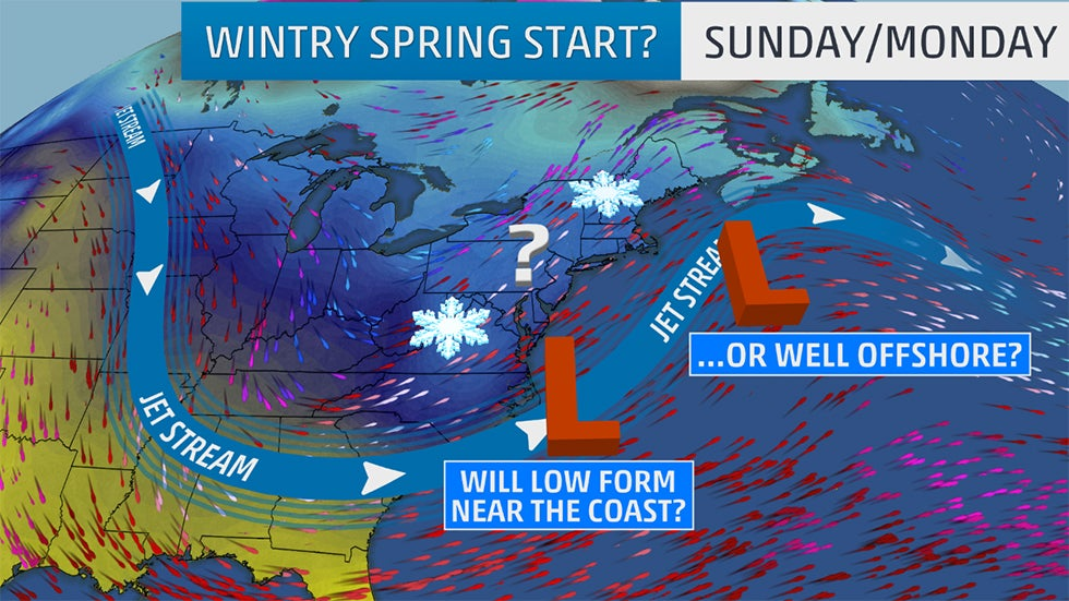 Will a Nor'easter Kickoff Spring With East Coast Snow?