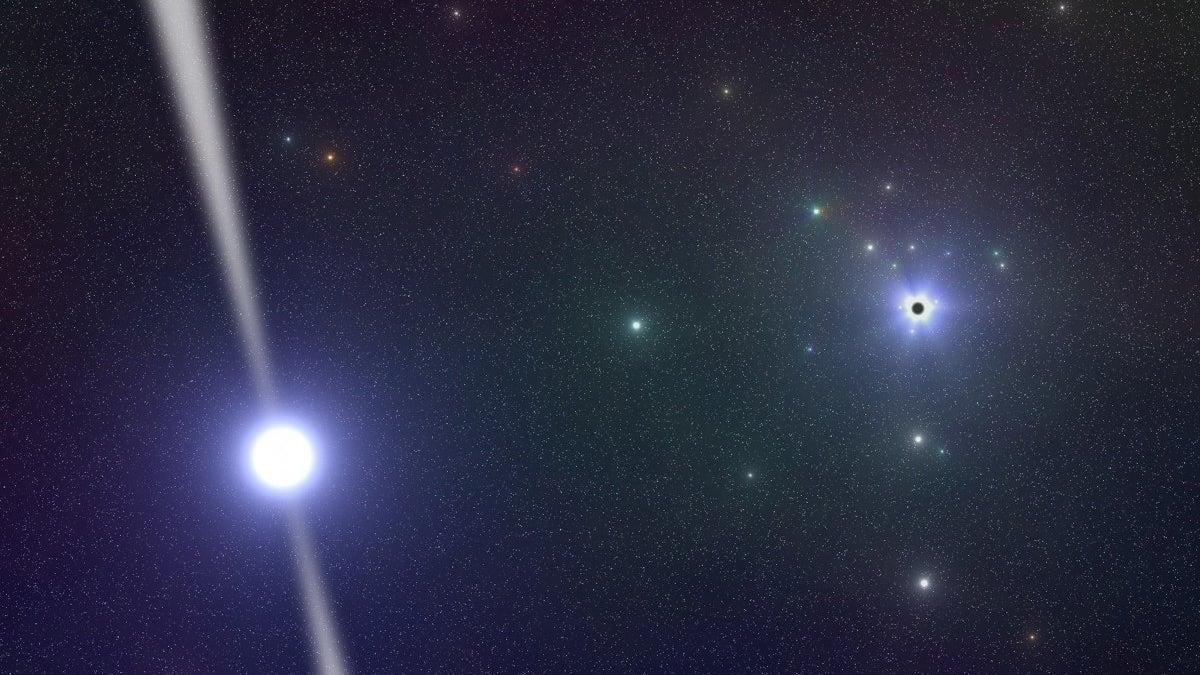 strange  pulsating star found