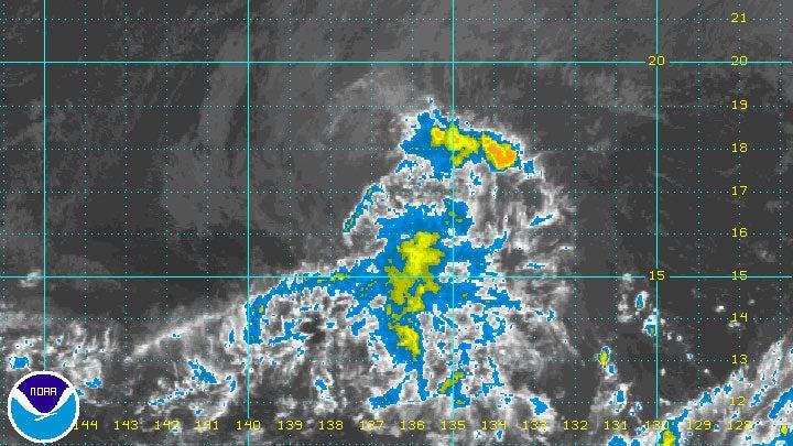 tropical depression eight