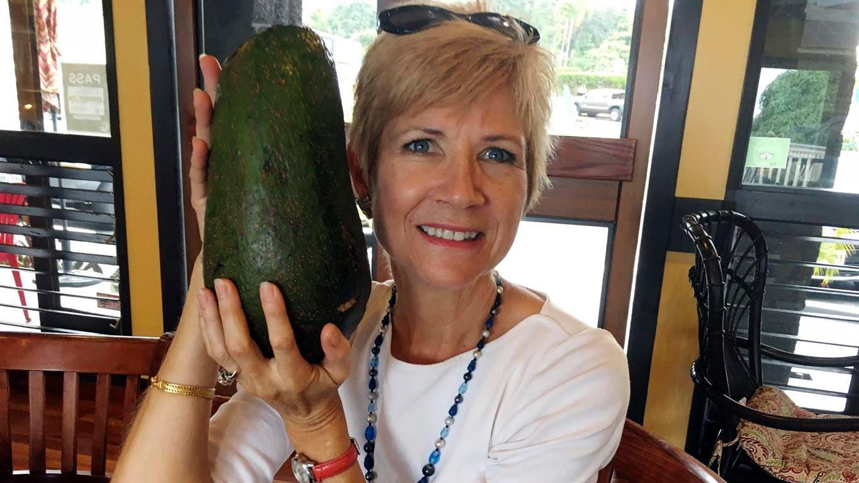 Hawaii Woman Seeks Guinness World Record for Giant Avocado