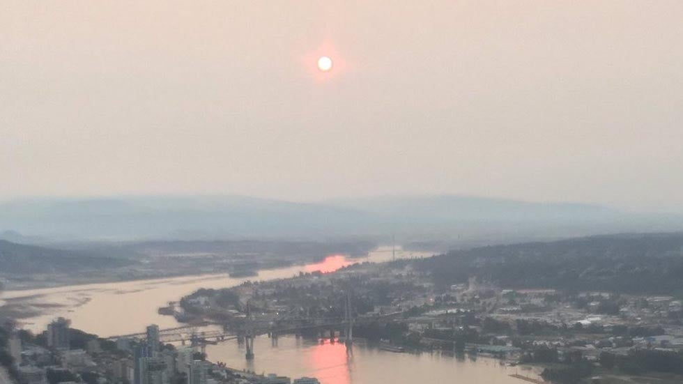 metro vancouver and the fraser valley finally see air