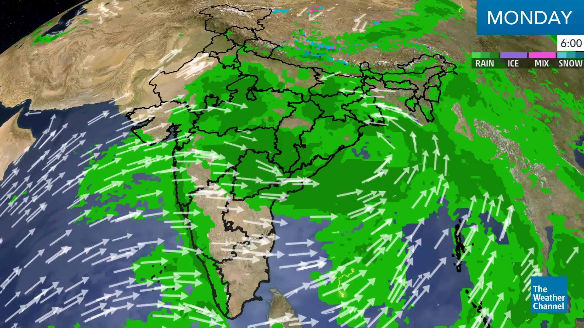 Flood Alert for Odisha, Andhra Pradesh Over Next Two Days