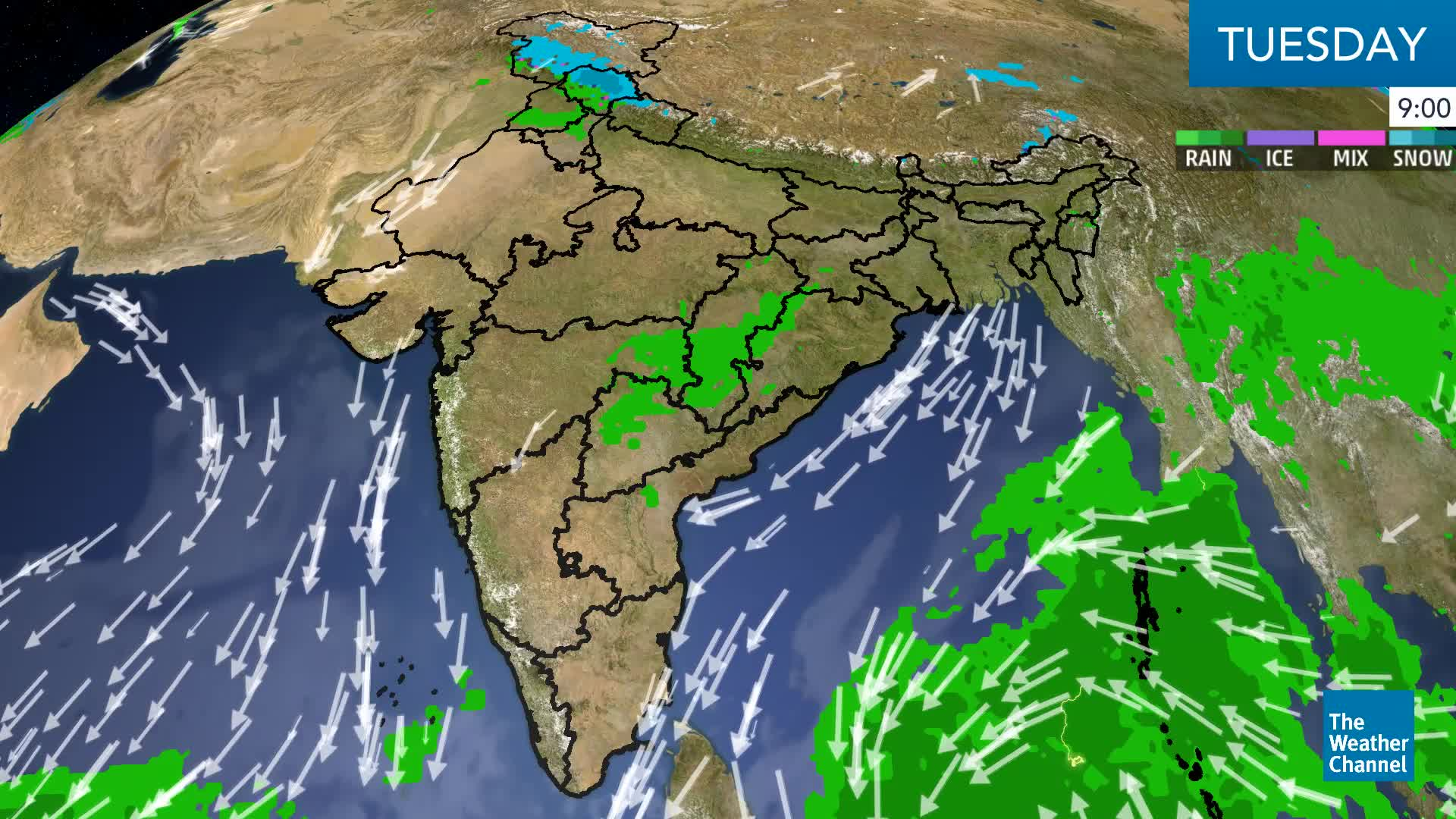 Heavy Snow, Rain Forecast for Himachal Pradesh Today